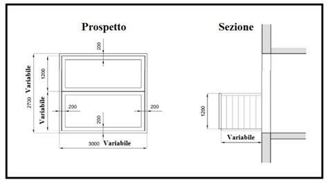altezza davanzale finestra un sistema a telaio per trasformare una finestra in un balcone