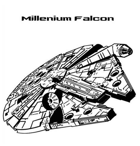 star wars millennium falcon coloring page millenium falcon in star wars coloring page batch coloring