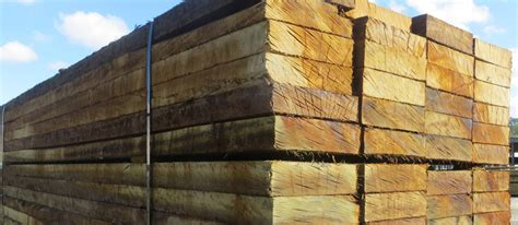 Treated Hardwood Sleepers by Treated Hardwood Sleepers Paling Fence Rail Posts 5
