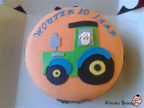 Auto Logo 3 Schildjes by Tractor Taart Prinsko Bakery Tractors