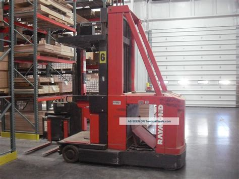 swing lift forklift raymond 537 csr30t swing reach forklift fork lift