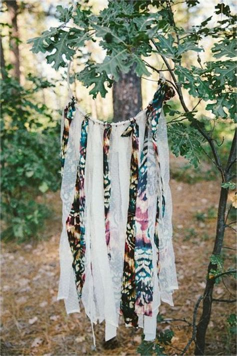 boho wedding dreamcatcher decor ideas weddingomania