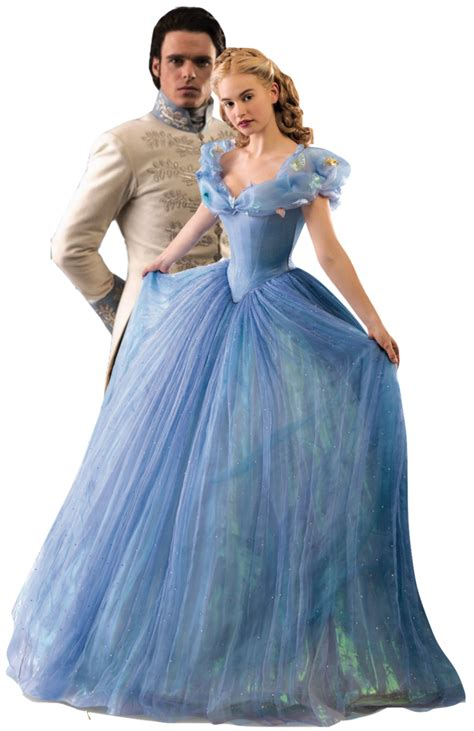 Cinderella and Kit Cinderella 2015 PNG by nickelbackloverxoxox on DeviantArt