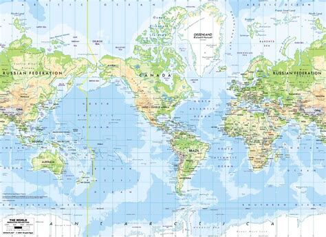 printable world map national geographic canvas oil prints painting national geographic world map