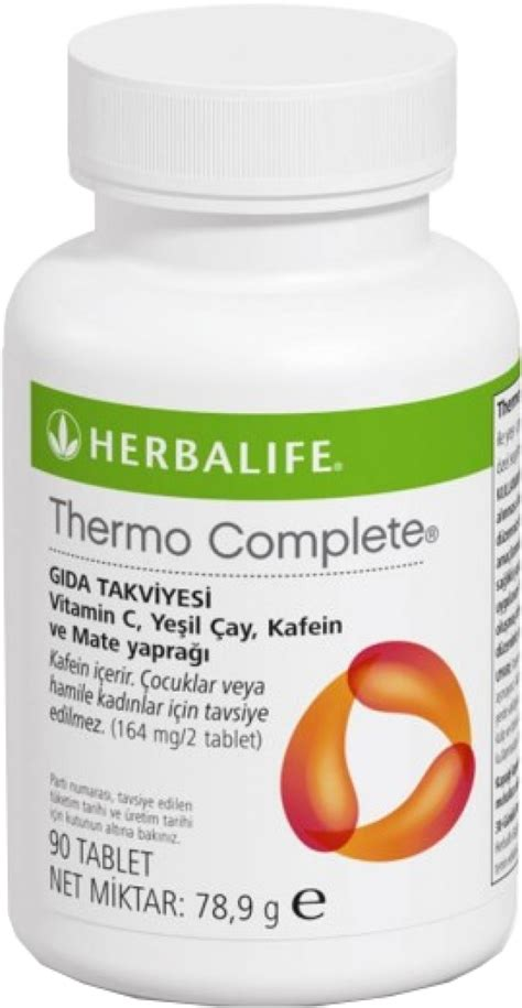 Teh Herbalife Thermo herbalife thermo complete 109 00