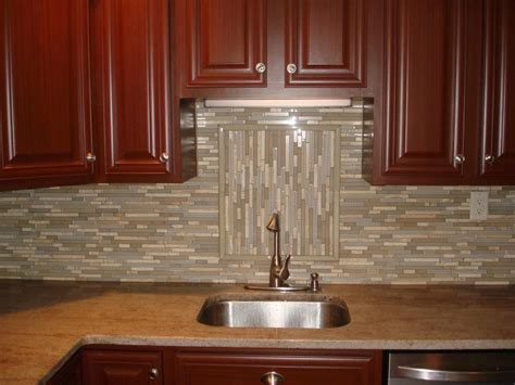 How To Do A Tile Backsplash In Kitchen Glass Tile Kitchen Backsplash Designs Peenmedia