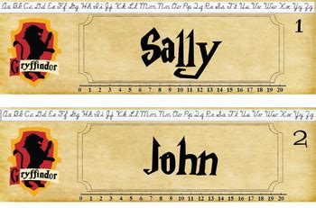 printable harry potter name tags harry potter house name tags publisher by tara hollan s
