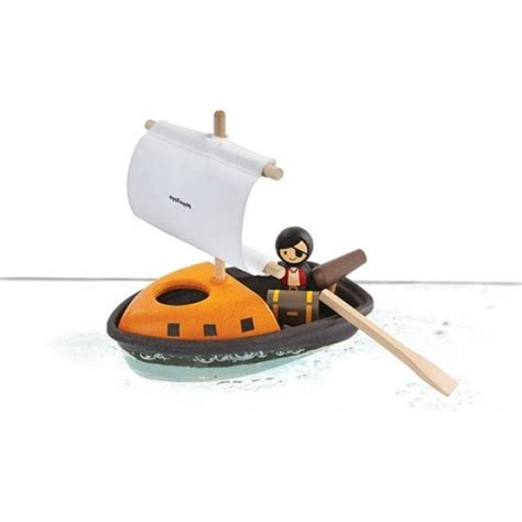 wooden toy boat uk plan toys pirate ship bath toy for babies wooden baby