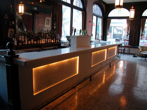 Top Portland Bars Bars Jon Meade Design Polished Concrete Surfaces