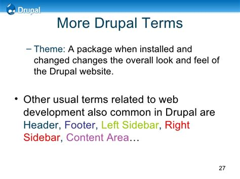 theme drupal commons drupal experience sharing at prime college