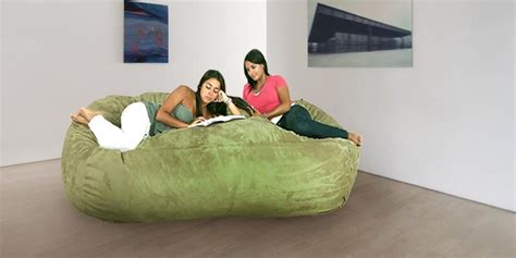 cozy sack 4 bean bag chair large navy best bean bag chairs for adults and reviews on