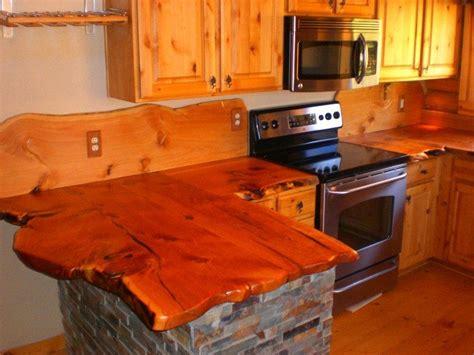 rustic timber countertops  owner builder network