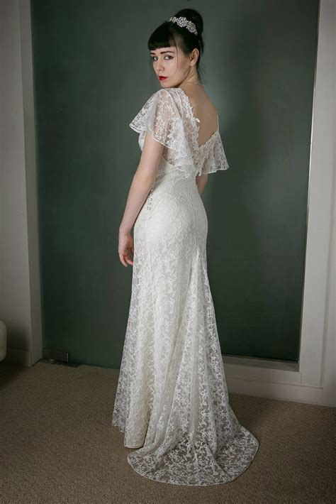 Brautkleider 30er Stil by Vintage Inspired Wedding Dress Of The Week In Dreamy