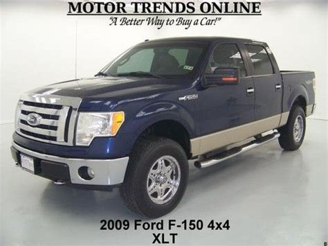 how to sell used cars 2009 ford f series auto manual purchase used 2009 4x4 xlt crewcab custom chrome wheels sync park assist ford f 150 115k in