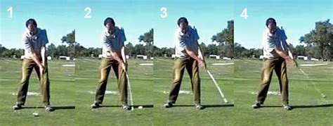hands during golf swing hand release actions through the impact zone