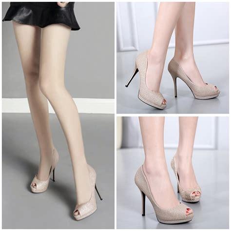 Sepatu High Heels Wanita 5cm Uc03 jual shh1062 gold sepatu heels 11 5cm grosirimpor