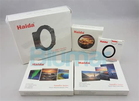 Haida Ring Adapter 49 Pro Series 75 haida 75 filter kit nd gnd cpl holder adapter ring for micro four thirds ebay
