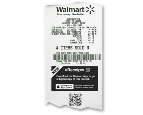 E Product Designation On Sams Club Receipt Template by Walmart Turns Digital Receipts Into Shopping Opportunities