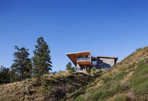 hillside houses lakeside home in kaleden british columbia