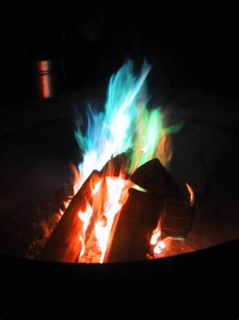 colored flames 18 summery outoor diy projects that borderline genius