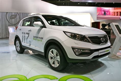 kia diesel hybrid kia sportage diesel hybrid concept wallpaper
