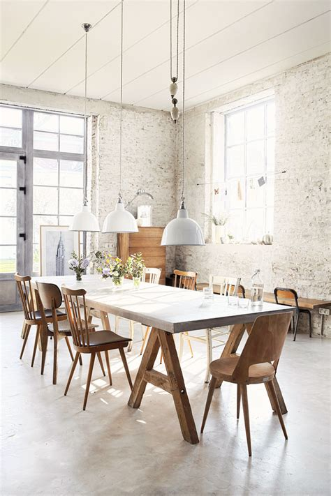dining area the perfect dining area with industrial touch 79 ideas