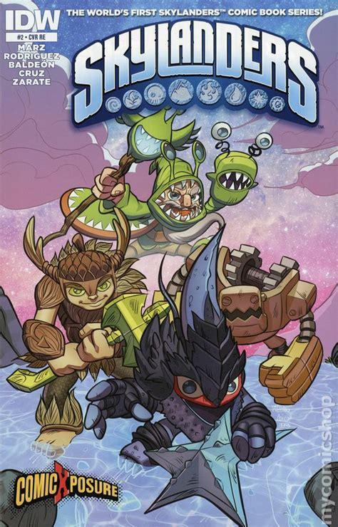 kaos comic book comic book 03 skylanders 2014 idw comic books
