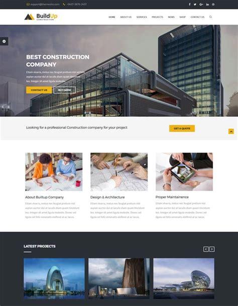 50 Best Architecture Construction Joomla Templates 2018 Freshdesignweb Best Construction Website Templates