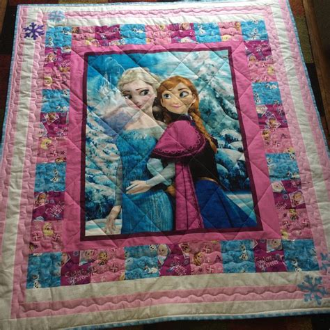 How Do You Do Patchwork - hello quilt character quilt frozen by