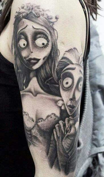 corpse bride tattoo tim burton some cool tattoos i found