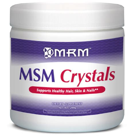 The Ms M by Vitaminlife Msm Crystals