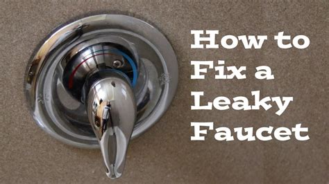 How To Stop A Leaky Faucet In The Kitchen How To Replace A Moen Cartridge And Fix A Leaky Bathtub Faucet Fix It Tutorials
