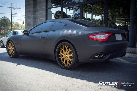 maserati forgiato maserati granturismo with 22in forgiato capolovaro wheels