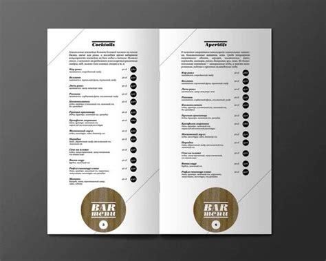 contoh desain daftar menu unik 42 desain menu restoran yang akan menginspirasi anda