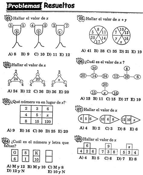 imagenes razonamiento matematico distribuciones numericas y graficas ejercicios resueltos