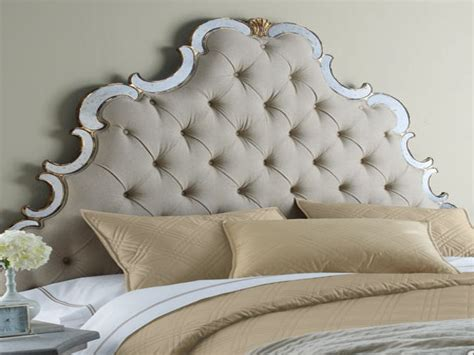 Fabric And Wood Headboards by Fabric Headboard With Wood Trim Top Modern Interior