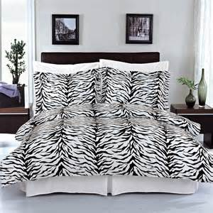 Zebra Duvet Cover Zebra Cotton Duvet Bedding Set