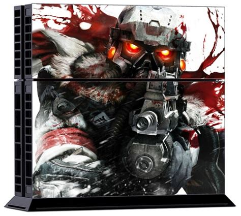 ps4 themes empty sony ps4 skin killzone