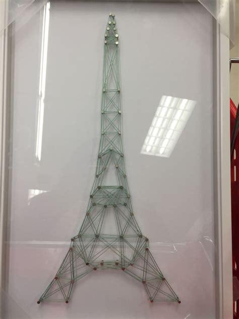 Eiffel Tower String - eiffel tower string wall crafts string