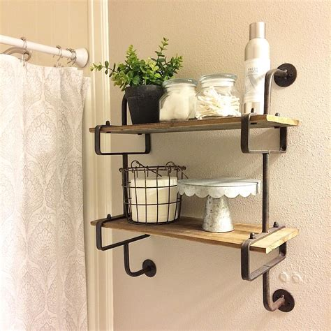 44 awesome diy bathroom shelves ideas that you need right now
