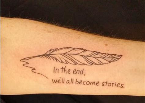 tattoo quotes for writers 22 opening lines and quotes from your favorite books you