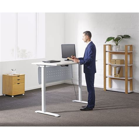 Office Works Computer Desk Bulk Buy 10 X Stilford Electric Height Adjustable Desk 1600mm Ebay