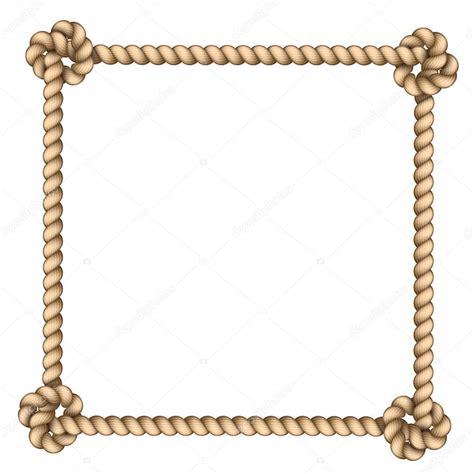 cornice vettoriale cornice corda vettoriali stock 169 strejman 37564439