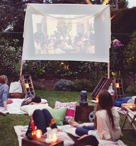 backyard movie ideas 10 romantic date night ideas date spark pinterest