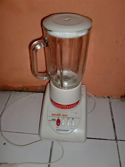 Baru Blender National Omega cara memperbaiki blender alat rumah tangga