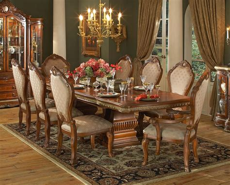 walnut dining room sets pedestal dining table walnut dining room set