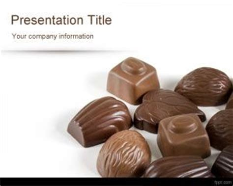 chocolate templates for powerpoint free download chocolates powerpoint template