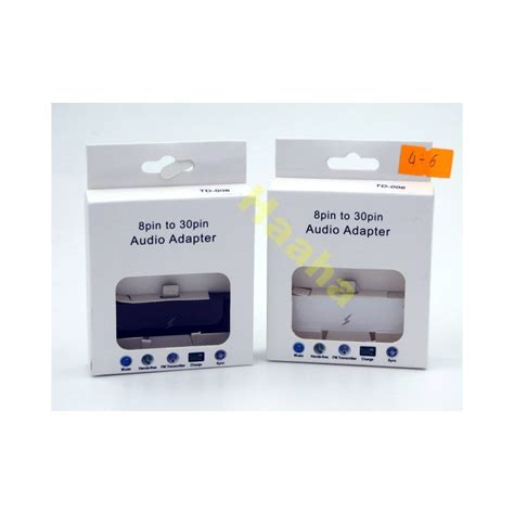 Adaptor Iphone 4 adapter audio iphone 4 do 6 haaha electronic market
