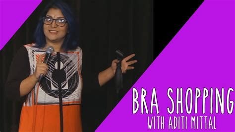 Comedy Bra bra shopping stand up comedy by aditi mittal whatsapp forwards jokes riddles and puzzles