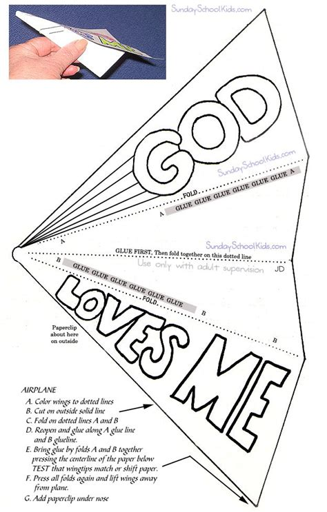 Paper Airplane Craft - paper airplane god me c and ss ideas and